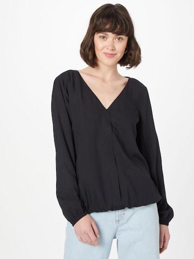 EDC BY ESPRIT Bluse in schwarz, Modelansicht
