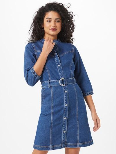 OBJECT Kleid 'Malou' in blue denim, Modelansicht