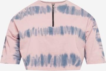Public Desire Curve Shirt in Roze