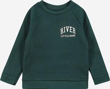River Island Sweatshirt in Grün