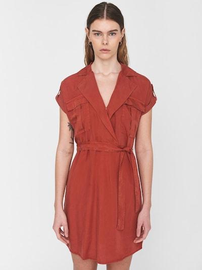 Rochie tip bluză Noisy may pe maro, Vizualizare model