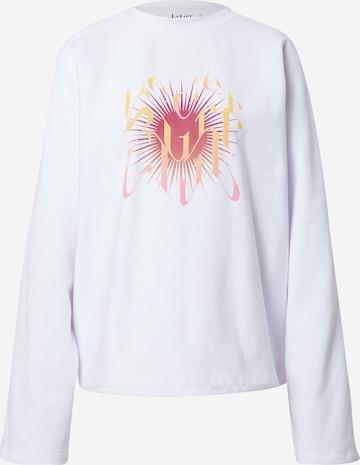 Sweat-shirt 'Armina' LeGer by Lena Gercke en blanc