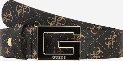 GUESS Belt in Light brown / Dark brown / Gold, Item view