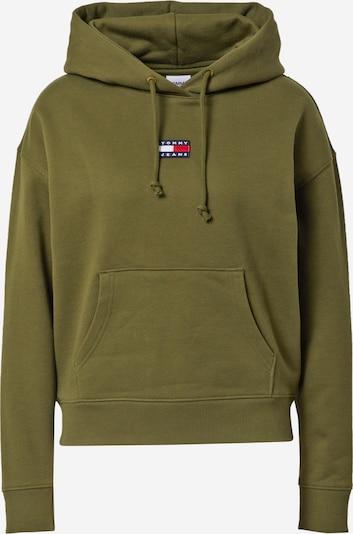 Tommy Jeans Sweatshirt in navy / oliv / rot / weiß, Produktansicht