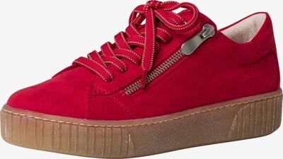 MARCO TOZZI Chaussure à lacets en rouge, Vue avec produit