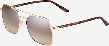 Calvin Klein Sonnenbrille 'CK21305S' в злато