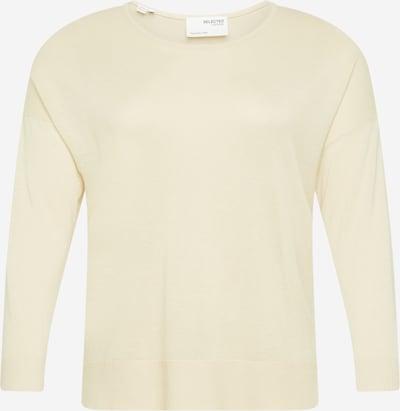 Selected Femme Curve Džemperis 'Malli' krēmkrāsas, Preces skats