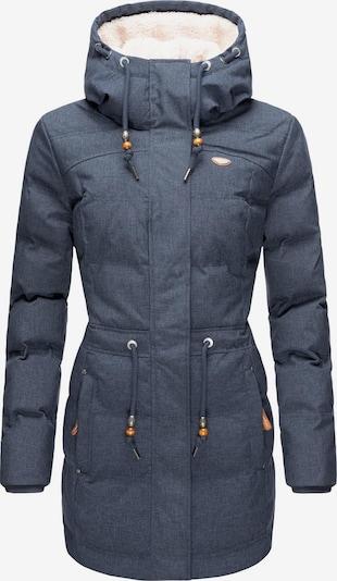 Ragwear Wintermantel 'Ashani' in de kleur Smoky blue, Productweergave