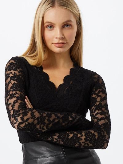 fekete Dorothy Perkins Póló 'Scallop': Elölnézet