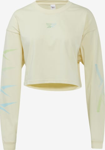 Reebok Classics Sweatshirt in Yellow