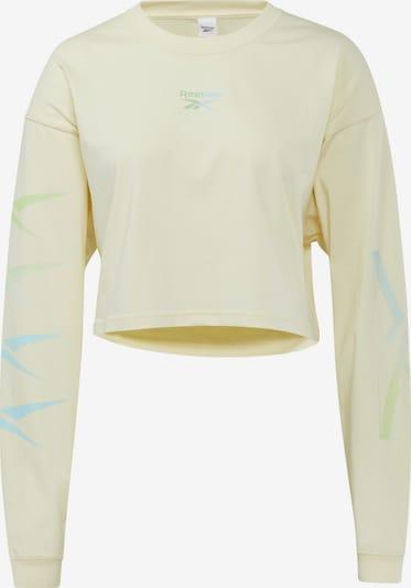 Reebok Classic Functioneel shirt in de kleur Geel, Productweergave