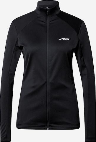adidas Terrex Athletic Jacket in Black