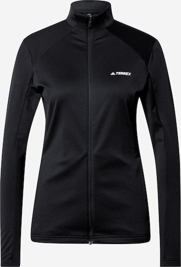 adidas Terrex Sportsweatjacke in schwarz, Produktansicht