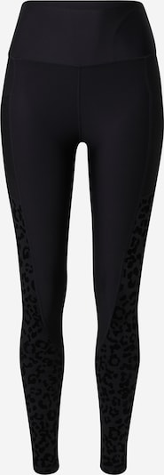 Athlecia Športne hlače 'Carolina' | rumena / črna / pegasto črna barva, Prikaz izdelka