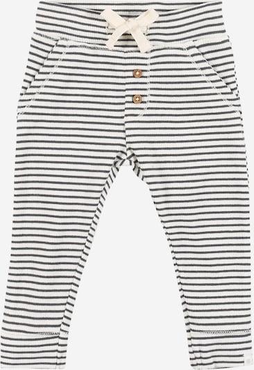 Noppies Панталон 'Sandhurst' в тъмносиво / бяло, Преглед на продукта