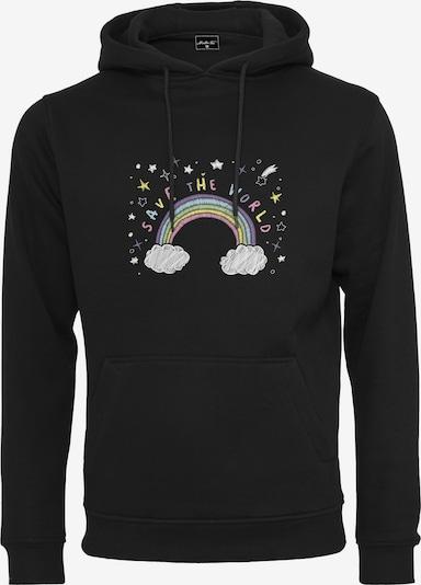 Merchcode Sweat-shirt en mélange de couleurs / noir, Vue avec produit