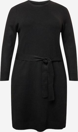 PIECES Curve Kleid 'CAVA' in schwarz, Produktansicht