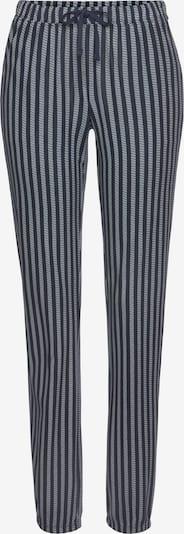 VIVANCE Pyjamahose in dunkelblau / weiß, Produktansicht