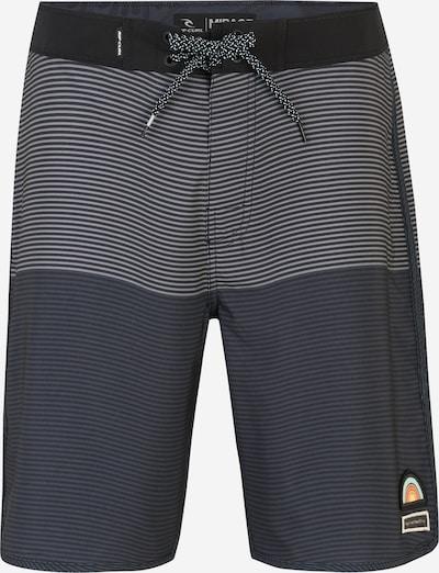 RIP CURL Badeshorts in taubenblau / grau / schwarz, Produktansicht