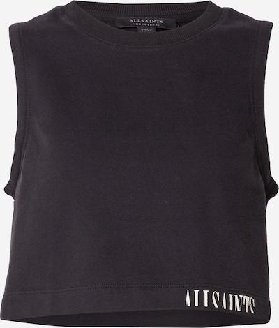 AllSaints Top - čierna / biela, Produkt