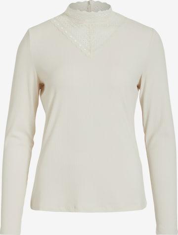 VILA Shirt 'Solitta' in Beige
