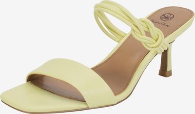 Ekonika Sandaletten in hellgelb, Produktansicht
