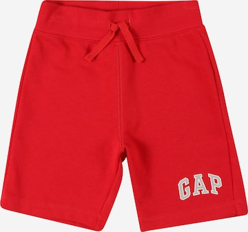 GAP Trousers in Red