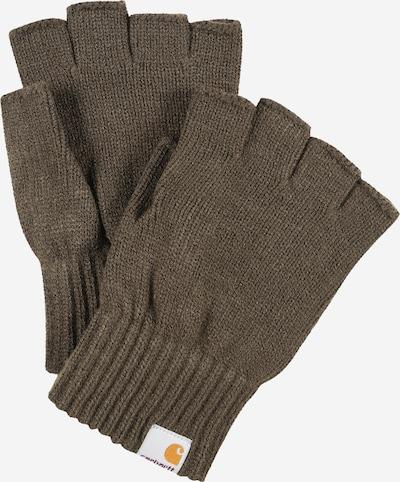 Mănuși cu degetele goale Carhartt WIP pe verde închis, Vizualizare produs