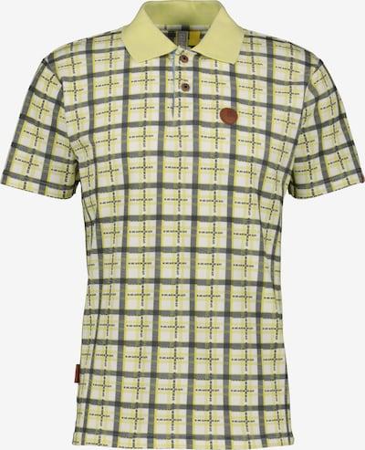 Alife and Kickin Poloshirt 'Paul' in gelb / dunkelgrau / weiß, Produktansicht
