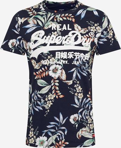 Superdry Shirt in marine / mischfarben, Produktansicht
