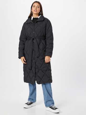ABOUT YOU Winter Coat 'Selma' in Black