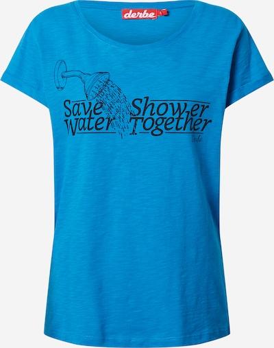 Derbe Shirt in blau / schwarz, Produktansicht