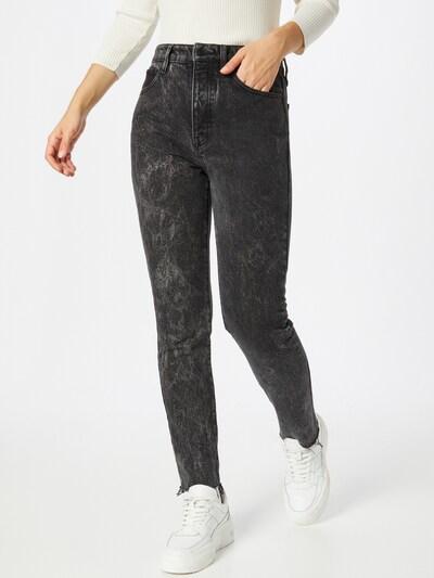 Jeans ARMANI EXCHANGE pe negru denim, Vizualizare model