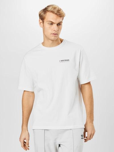 Marškinėliai 'Citizen' iš Worst Behavior , spalva - juoda / balta: Vaizdas iš priekio