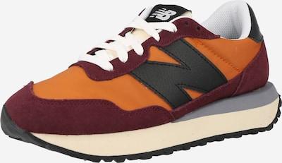 new balance Sneaker '237' in orange / bordeaux / schwarz, Produktansicht