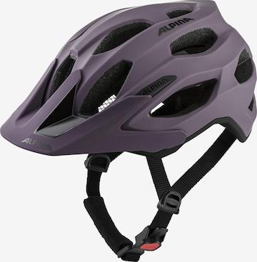Alpina Helmet 'Carapax 2.0' in Purple