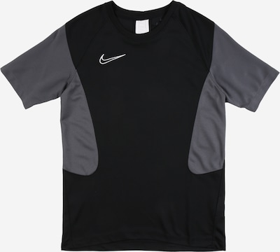 NIKE Sportshirt 'Academy' in dunkelgrau / schwarz, Produktansicht