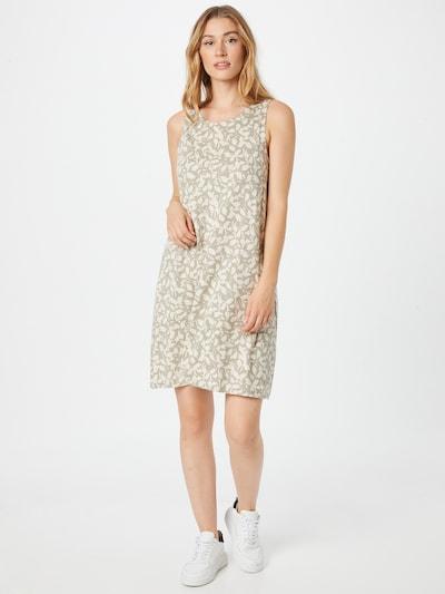 Rochie de vară s.Oliver pe kaki / alb, Vizualizare model