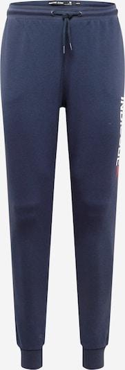 INDICODE Hlače 'Eugen' u mornarsko plava / crvena / bijela, Pregled proizvoda