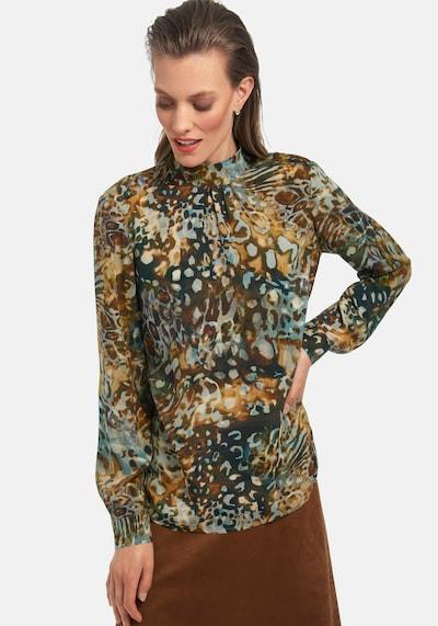 Uta Raasch Langarmbluse Bluse zum Schlupfen in mischfarben, Modelansicht