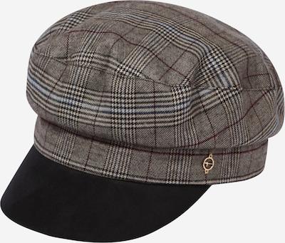 TAMARIS Mütze 'Elbsegler' in braun / grau / schwarz, Produktansicht