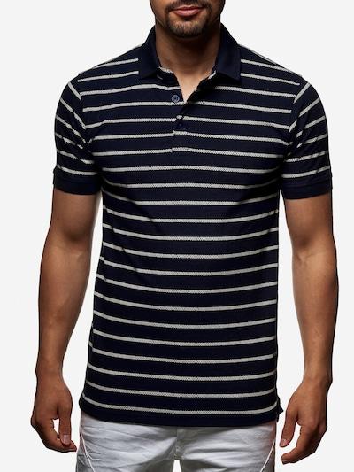 INDICODE JEANS Shirt in de kleur Grijs / Zwart: Vooraanzicht