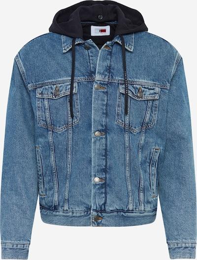 TOMMY HILFIGER Prijelazna jakna 'Lewis Hamilton' u mornarsko plava / plavi traper / crvena / bijela, Pregled proizvoda