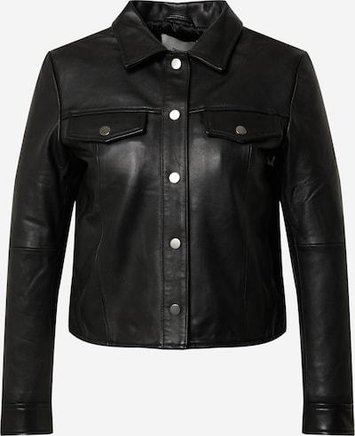 Deadwood Tussenjas 'Frankie' in de kleur Zwart, Productweergave