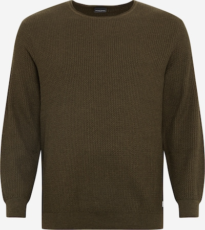 Jack & Jones Plus Pullover  'CARLOS ' in oliv, Produktansicht
