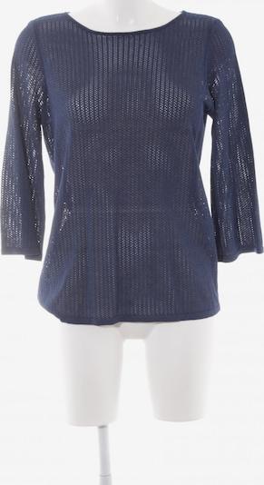 MAERZ Muenchen Rundhalspullover in M in dunkelblau, Produktansicht
