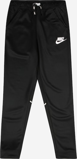 Nike Sportswear Pantalon en noir / blanc, Vue avec produit