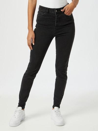 OBJECT Jeans 'Kelly Harper' in black denim, Modelansicht