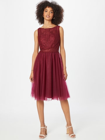 MAGIC NIGHTS Cocktail Dress in Red