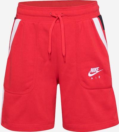 Pantaloni sport Nike Sportswear pe roșu / negru / alb, Vizualizare produs